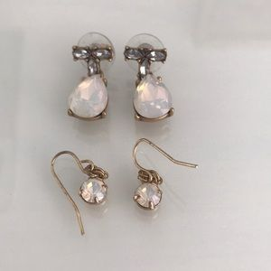 Set of 2 Francesca's Opal Drop Earrings